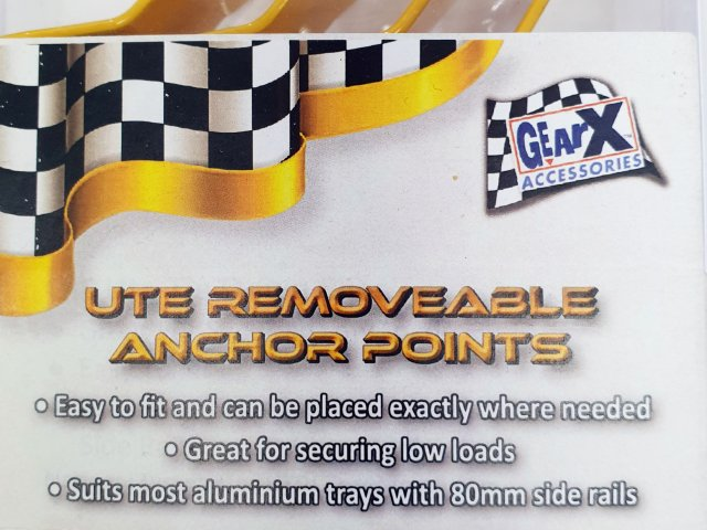 Ute Removeable Anchor Points